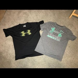 Under Armour Dri-fit shirt lot (2shirts) Sz Large